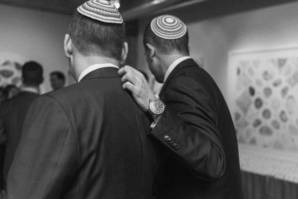 Long View Gallery DC LGBT Wedding Two Grooms Jewish Wedding