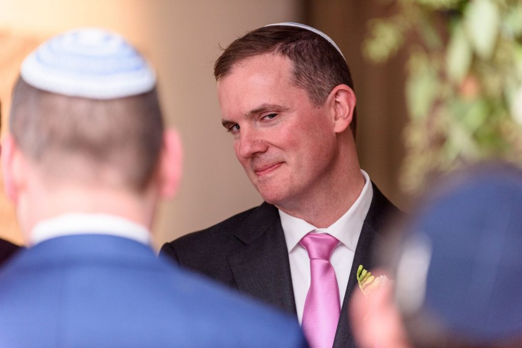 Long View Gallery DC LGBT Wedding Portraits Two Grooms in Jewish Ceremony