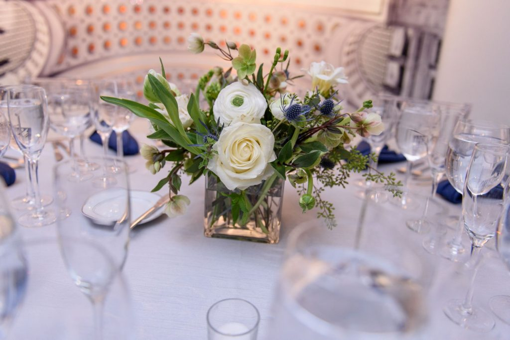 Long View Gallery DC LGBT Wedding Two Grooms Flowers Bouquet
