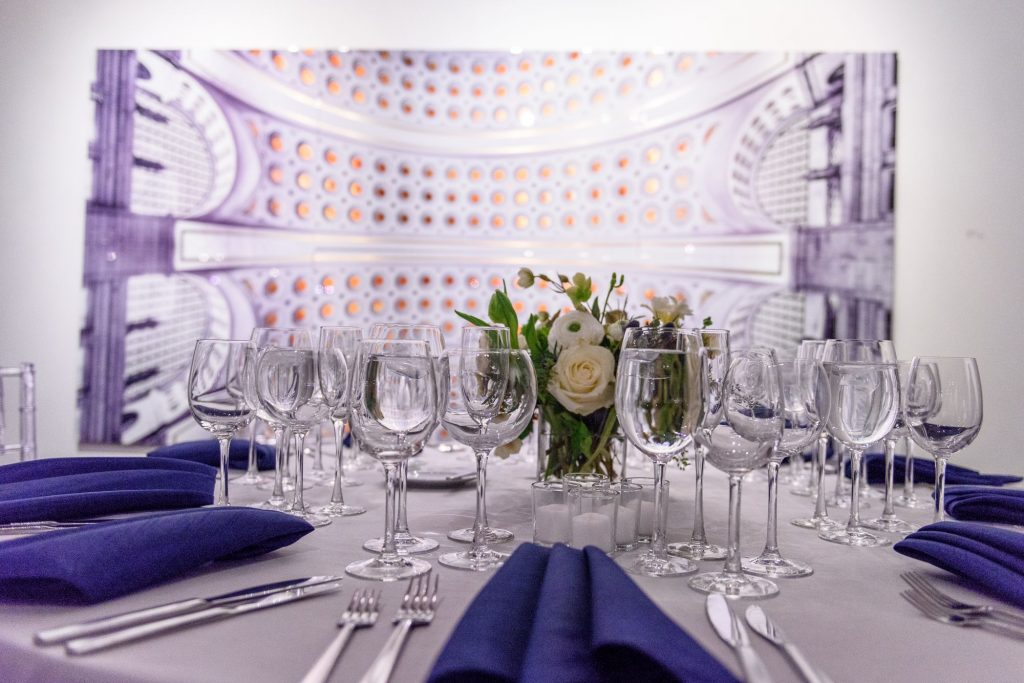 Long View Gallery DC LGBT Wedding Two Grooms Flowers and Bouquet and Tablescape
