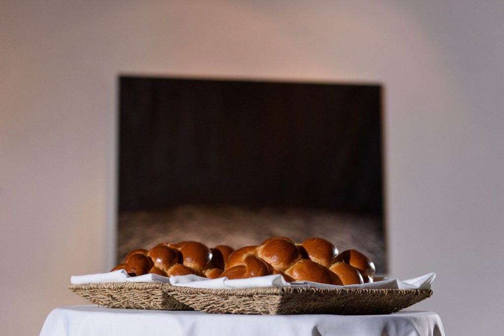 Long View Gallery DC LGBT Wedding Two Grooms Challah