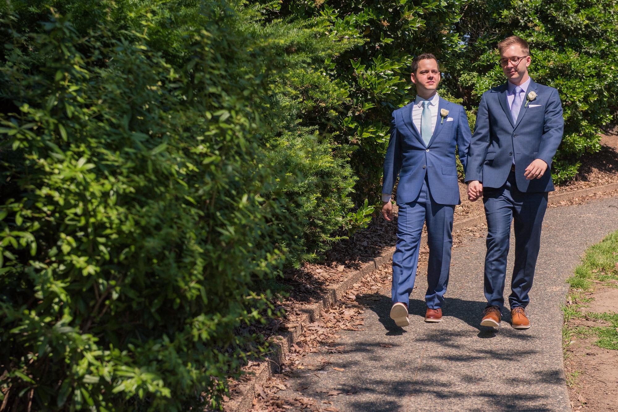 Gay meridian hill park dc wedding