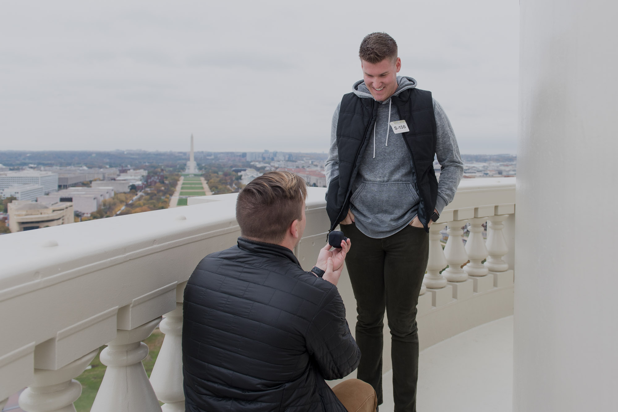 Justin and Flint - LGBT Gay Proposal at the United States Capitol